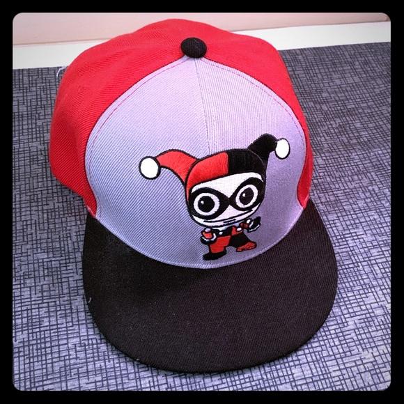 wholesale dealer e8f2b ceadc Harley Quinn Snap Back Cap